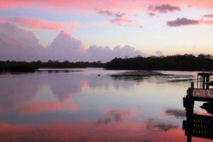 sunset-across-weyba-creek-noosaville